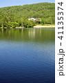 風景 山 湖の写真 41135374