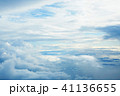上空 空 雲の写真 41136655
