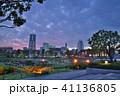 横濱夕景 41136805