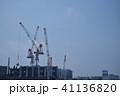 高層ビルの工事風景 41136820