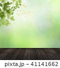 背景-新緑-ウッドデッキ 41141662
