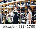 女性 メス 買い物客の写真 41142765