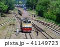 鉄道 線路 列車の写真 41149723