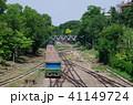 鉄道 線路 列車の写真 41149724