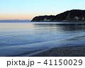 水辺風景(神奈川県、逗子市、冬) 41150029