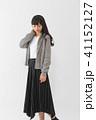 ファッション 若い 女性の写真 41152127