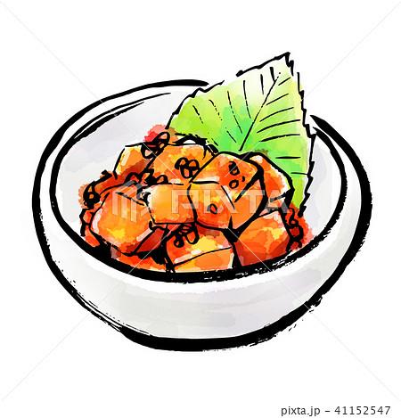 筆描き 食品 キムチ カクテキ 41152547