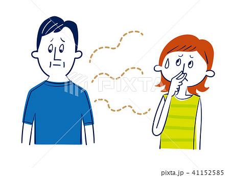加齢臭に悩む夫婦 41152585