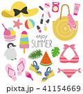 夏 真夏 ファッションのイラスト 41154669