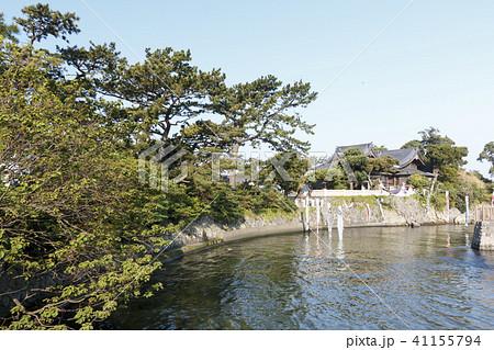 寺社風景(神奈川、森戸神社、春) 41155794