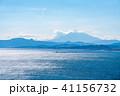 富士山 山 海の写真 41156732