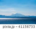 富士山 山 海の写真 41156733
