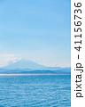 富士山 山 海の写真 41156736