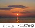 知多 海 日の出の写真 41157042