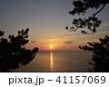 竹島 海 日の出の写真 41157069