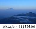 富士山 山 風景の写真 41159300