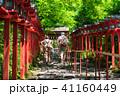 貴船神社 新緑 神社の写真 41160449