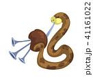 音楽 バグパイプ ヘビのイラスト 41161022