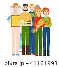 ベクトル イラスト 挿絵のイラスト 41161993