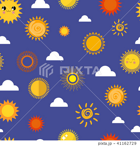 Sun vector yellow planets different style weather illustration season sunny symbol icons collection 41162729
