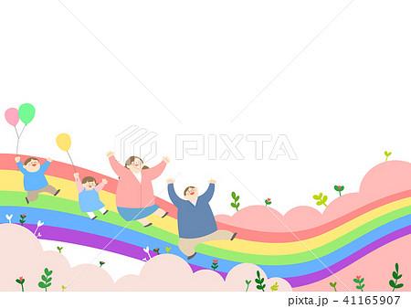 Vector - Welcome spring. Enjoy spring time illustration 005 41165907