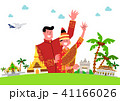 Trip to East asia, Travel Landmarks Vector Illustration 010 41166026