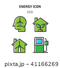 Set of Icon for eco energy, build, bitcoin and IoT industry. 007 41166269