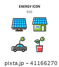 Set of Icon for eco energy, build, bitcoin and IoT industry. 009 41166270