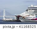 ノルウェージャンジュエル 横浜港 停泊の写真 41168325