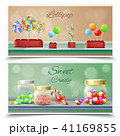Candies Horizontal Banners 41169855