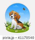 わんこ 犬 マンガのイラスト 41170540