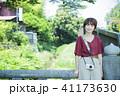 女性 鎌倉 カメラの写真 41173630