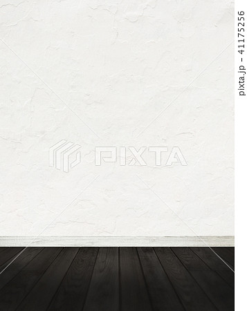 白壁-コンクリート-フローリング-床 41175256