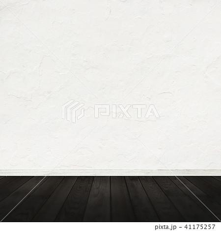 白壁-コンクリート-フローリング-床 41175257