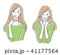 女性 悩み喜び セット 41177564