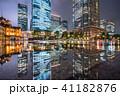 高層ビル 街並み 建物の写真 41182876