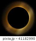 丸 渦 渦巻き 螺旋 金 筆文字 41182990