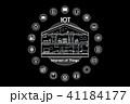 IOT スマートホーム スマートハウスのイラスト 41184177