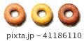 スイーツ 菓子 ドーナツのイラスト 41186110