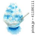 かき氷 デザート 氷菓のイラスト 41186111