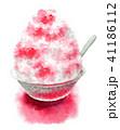 かき氷 デザート 氷菓のイラスト 41186112