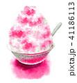 かき氷 デザート 氷菓のイラスト 41186113