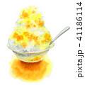 かき氷 デザート 氷菓のイラスト 41186114