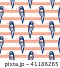 Parrot pattern seamless bird vector. 41186265