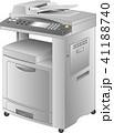 コピー機・FAX複合プリンタ(copier)ベクター 41188740