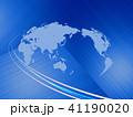 ビジネス グローバル 世界地図のイラスト 41190020