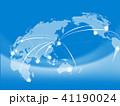 ビジネス グローバル 世界地図のイラスト 41190024