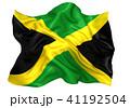 ジャマイカ国旗 41192504