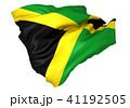 ジャマイカ国旗 41192505