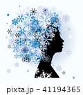 女性 メス レディのイラスト 41194365